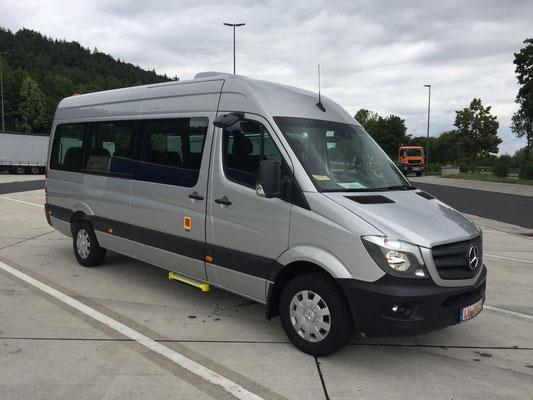 19.06.2018, Mercedes-Benz Sprinter-Transfer, Dortmund > Neu-Ulm