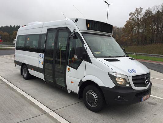09.11.2017, Mercedes-Benz Sprinter-City, Mannheim > Dortmund