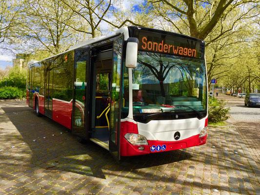 01./02.05.2016, Mercedes-Benz Citaro 12 M, Mannheim > Wiener Neustadt, Österreich