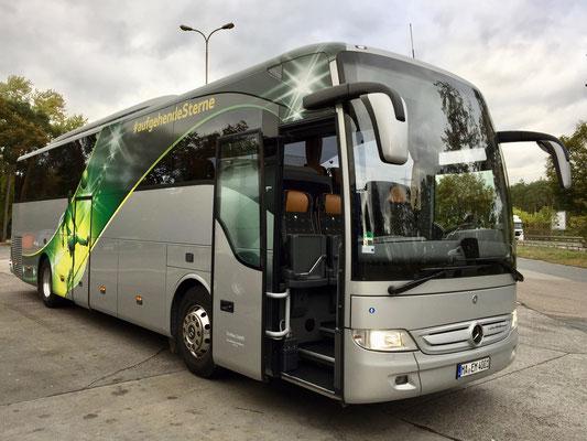 19.10.2016, Mercedes-Benz Tourismo, Frankfurt > Mannheim, ehemaliges Fahrzeug der holländischen Nationalmannschaft bei der UEFA-Meisterschaft 2016 (siehe 06.07.2016)