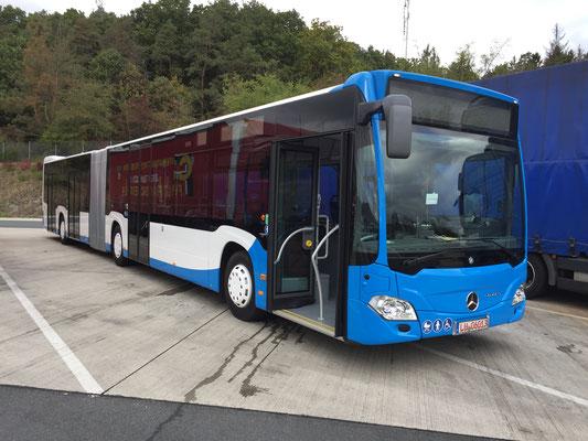 13.10.2016, Mercedes-Benz Citaro G, Mannheim > Münster