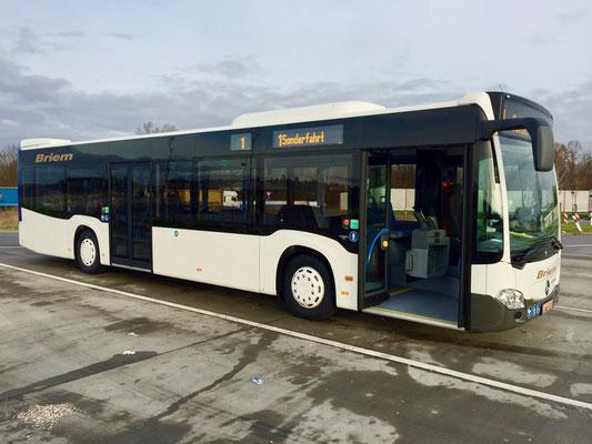 09.12.2016, Mercedes-Benz Citaro 12 M, Mannheim > Neu-Ulm