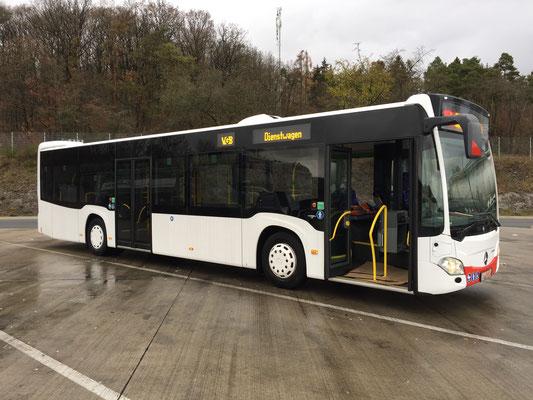 03.12.2018, Mercedes-Benz Citaro Hybrid, Mannheim - Dortmund