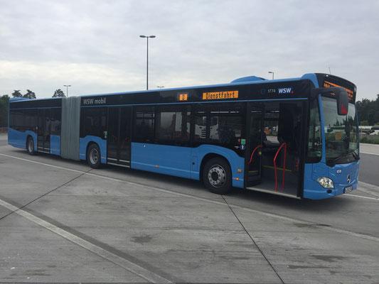 22.05.2017, Mercedes-Benz Citaro G, Mannheim > Wuppertal