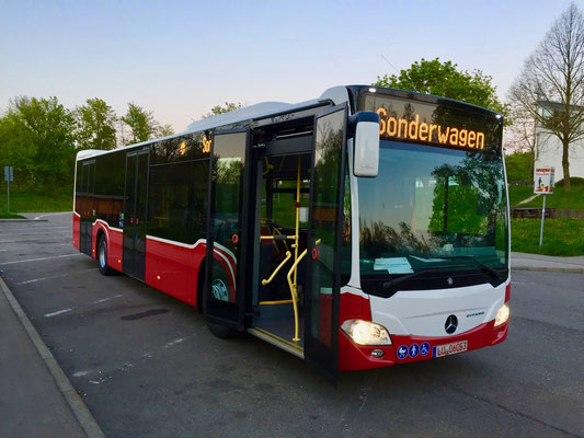 05./06.05.2016, Mercedes-Benz Citaro 12 M, Mannheim > Wiener Neustadt, Österreich
