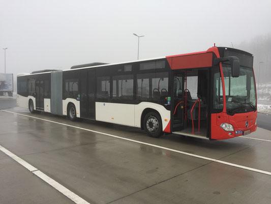 21.12.2017, Mercedes-Benz Citaro 12 M, Mannheim > Arnsberg