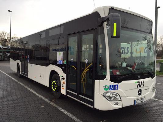 04.12.2015, Mercedes-Benz Citaro, Mannheim > Meckenheim