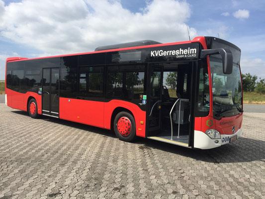 23.06.2017, Mercedes-Benz Citaro 12 m, Mannheim > Mönchengladbach