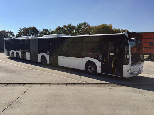 10.10.2018, Mercedes-Benz CapaCity, Hirschberg - Mannheim, Fahrdienst Hirschberg
