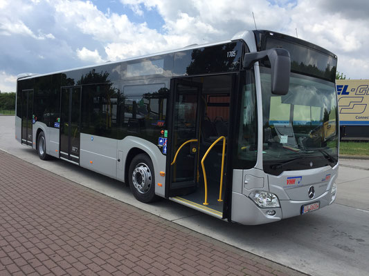 31.05.2017, Mercedes-Benz Citaro 12 m, LU-Oggersheim > Hamburg