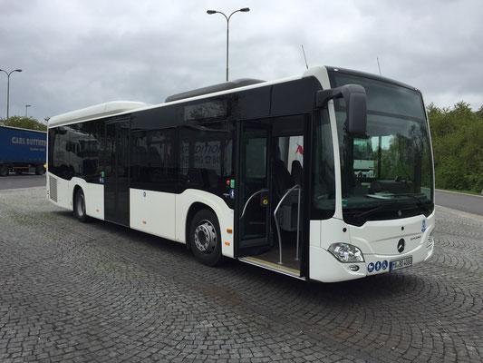 08.05.2017, Mercedes-Benz Citaro, Bielefeld > Frankfurt