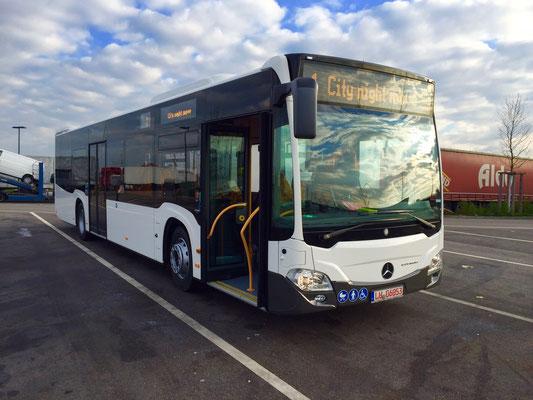 15.12.2015, Mercedes-Benz Citaro, Mannheim > Weil/Rhein