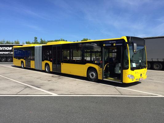 08.06.2017, Mercedes-Benz Citaro G, Schwarzenbach/Wald > Mannheim