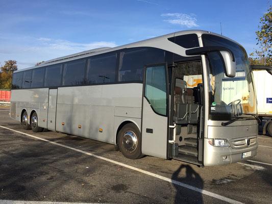 04.11.2016, Mercedes-Benz Tourismo, Herrenberg > Mainz