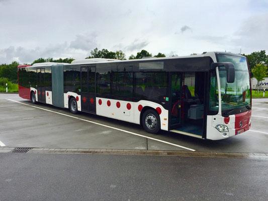 15.06.2016, Mercedes-Benz Citaro GÜ, Mannheim > Bassersdorf, Schweiz