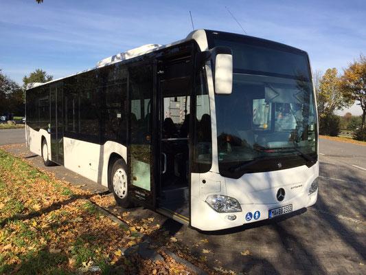 02.11.2015, Mercedes-Benz Citaro, Xanten > Hirschberg