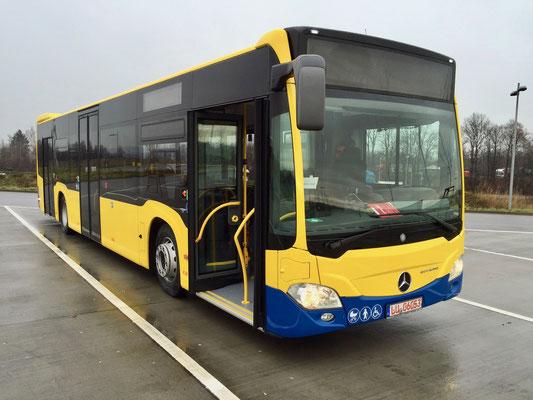 16.12.2015, Mercedes-Benz Citaro, Mannheim > München