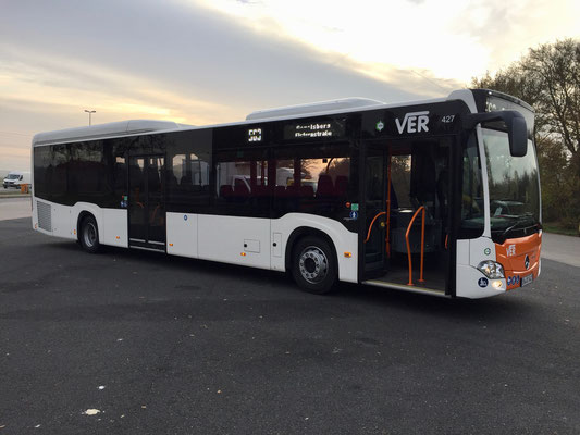 28.11.2018, Mercedes-Benz Citaro LE, Mannheim - Ennepetal