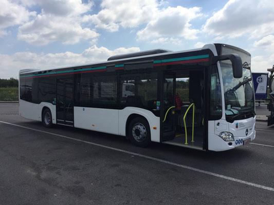 26.06.2018, Mercedes-Benz Citaro 12 m, Mannheim > Calw