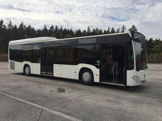 16.10.2018, Mercedes-Benz Citaro LE, Bamberg - Dortmund