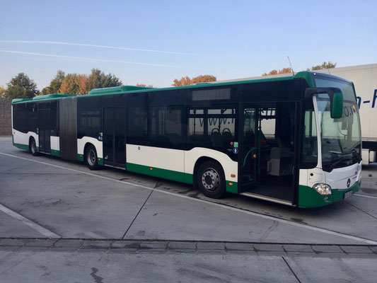 10.10.2018, Mercedes-Benz Citaro G, Hirschberg - Kirchheim-Bolanden, Fahrdienst Hirschberg