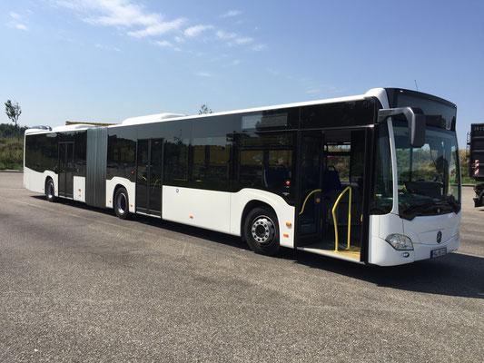 21.07.2017, Mercedes-Benz Citaro G, Neu-Ulm > Hirschberg