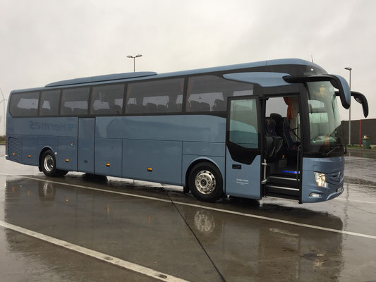 11.12.2017, Mercedes-Benz Tourismo (neu), Mannheim > Frechen