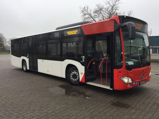 19.12.2017, Mercedes-Benz Citaro 12 M, Mannheim > Lippstadt