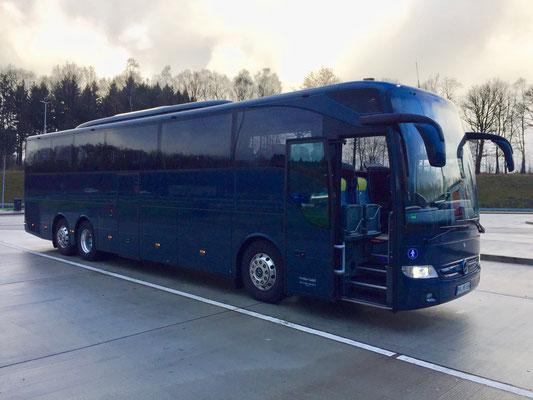 28.11.2017, Mercedes-Benz Tourismo M, Frankfurt > Dortmund