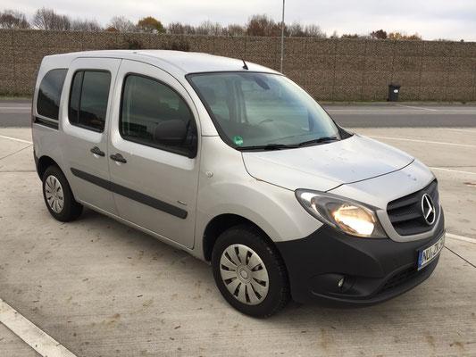 25.11.2016, Mercedes-Benz Citan 109 CDI, Spiessen - Mannheim
