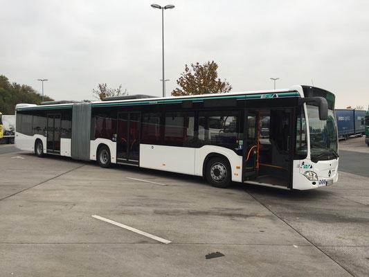17.10.2017, Mercedes-Benz Citaro G, Bielefeld > Dortmund
