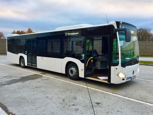 25.11.2016, Mercedes-Benz Citaro, Hirschberg > Mannheim