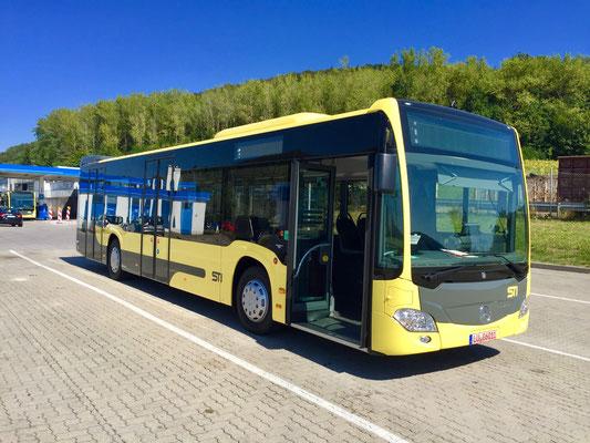 12.09.2016, Mercedes-Benz Citaro 12 M, Mannheim > Bassersdorf, Schweiz