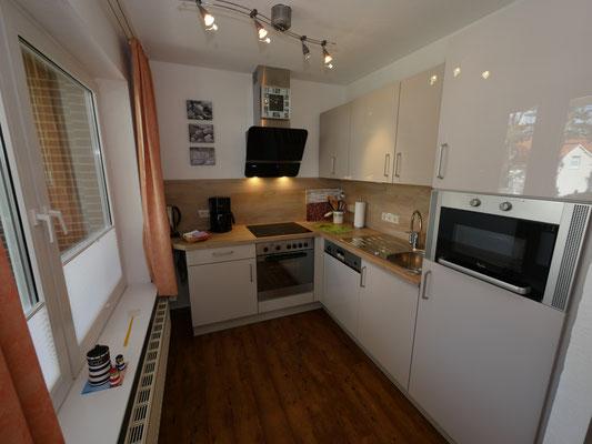 Die moderne Küche fer Ferienwohnung