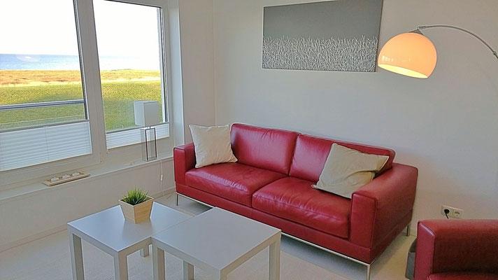 Modern und komfortabel ist die Ferienwohnung Küstentraum ausgestattet.