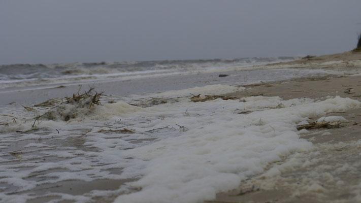 Die Wellen sehen gar nicht so schlimm aus