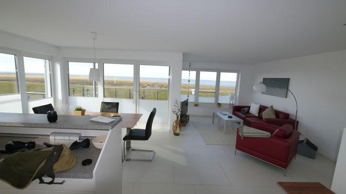 Der Küstentraum bietet reichlich Wohnfläche.
