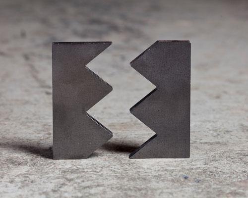 La fêlure (acier découpé)