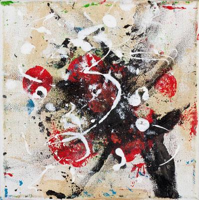 Boxing Dancer (acrylique sur toile 20 x 20cm)