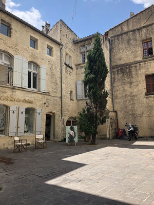 Welcome to medieval Uzes, Provence