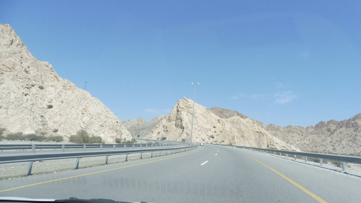 Keep driving in Oman.
