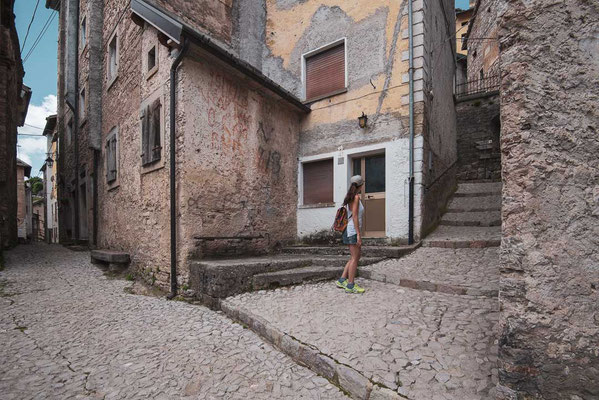 """Discovering the small village """"Casso"""""""