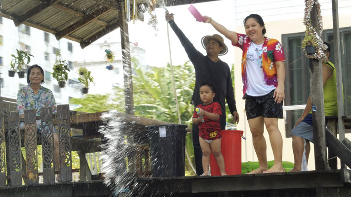Happy Songkran to everyone in Bangkok, Thailand