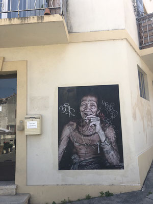 Street art in Arles, Provence (South of France)