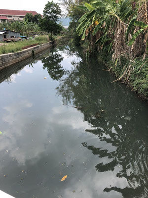 Waste water in Phuket, Thailand