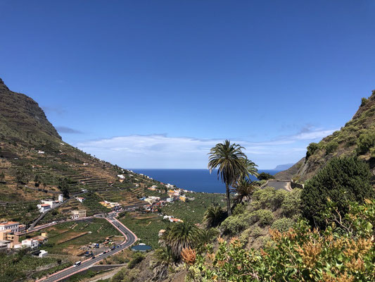 Beautiful view of Hermigua_La Gomera _ 06/2021