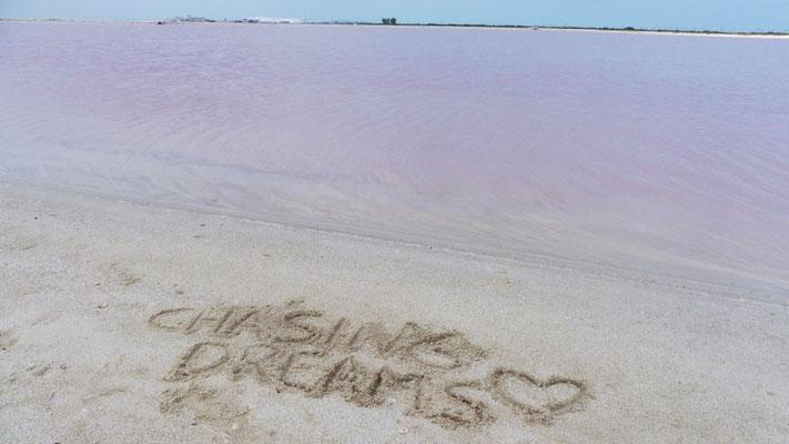 Chasing Dreams & The Pink Lake at Las Coloradas