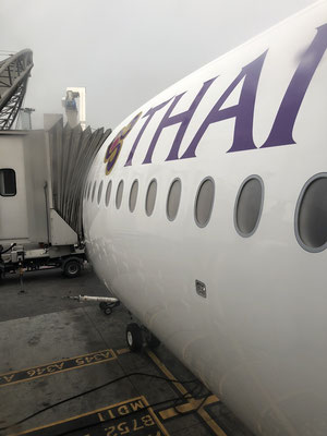 It's boarding time - Thai Airways