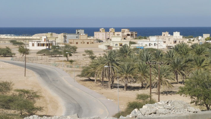 Desert cities in Oman.