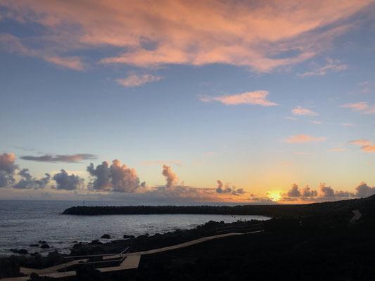 Sunset in La Restinga on El Hierro